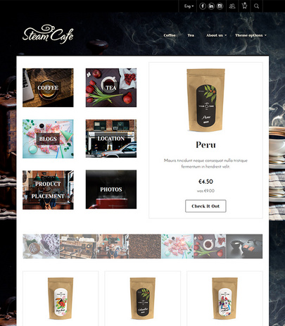 Shopamine themes -